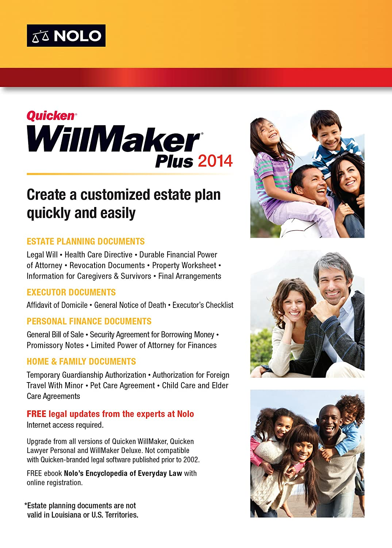 amazon com quicken willmaker plus 2014 software
