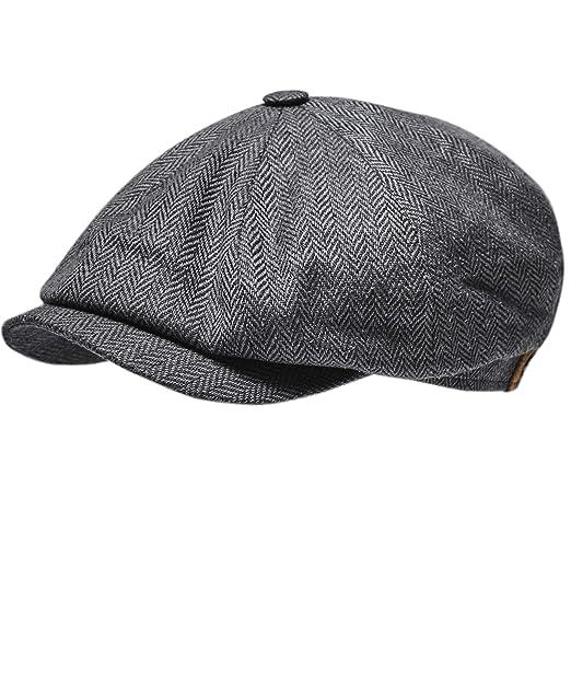 various design the best fashion Stetson Hatteras Frame Silk Cap Women/Men - Made in The EU Summer Beanie  Wild hat Peaked caps with Peak, Lining Spring-Summer