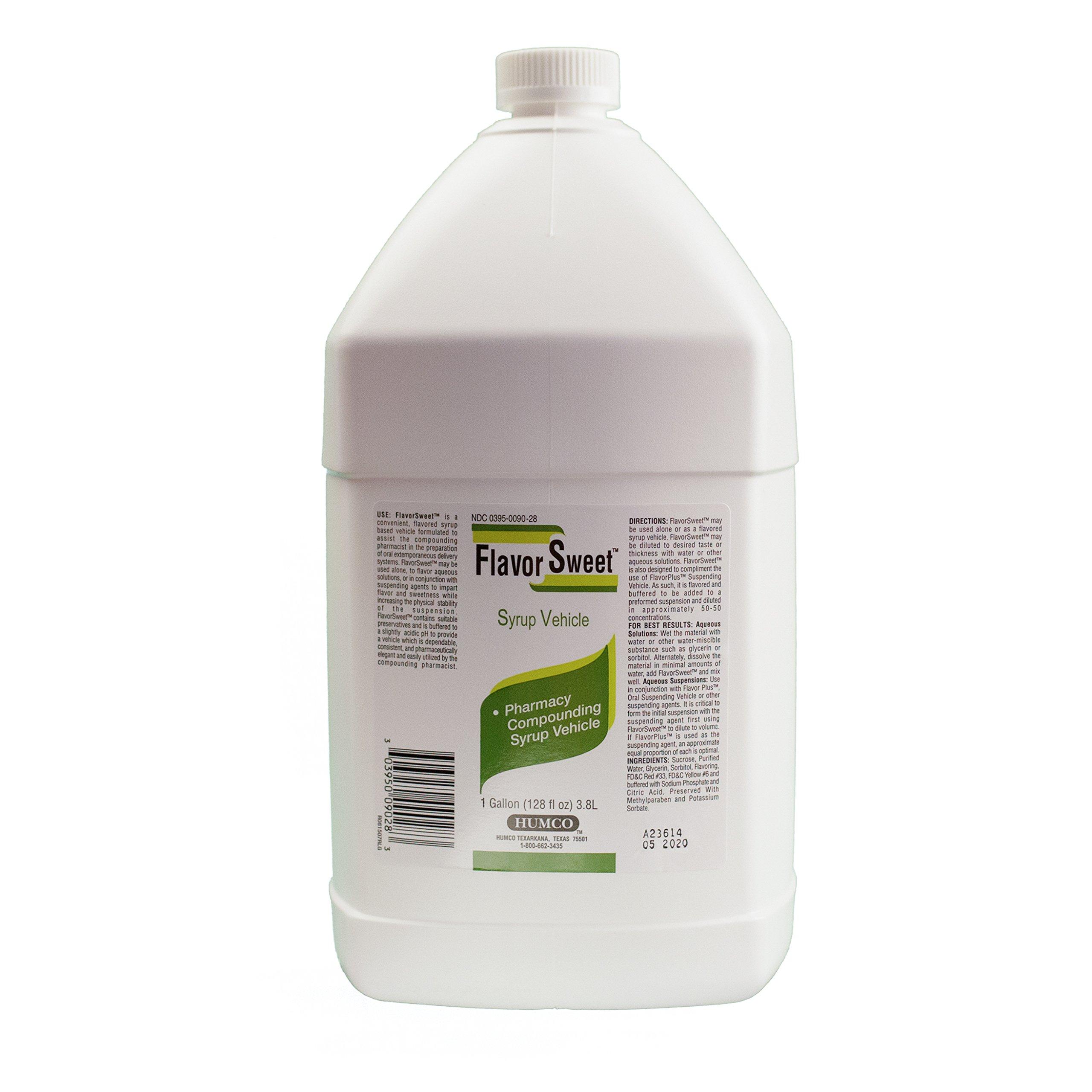 HUMCO Flavor Sweet-Sugar Free, 1 Gallon