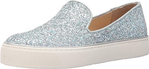 stuart weitzman glitter sneakers