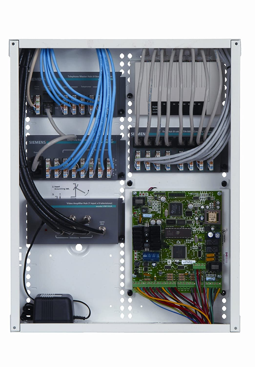 Siemens Structured Wiring Diagram Portal Enclosure Ups Ne36c 36 Inch Network Cover Rh Amazon Com Cabling