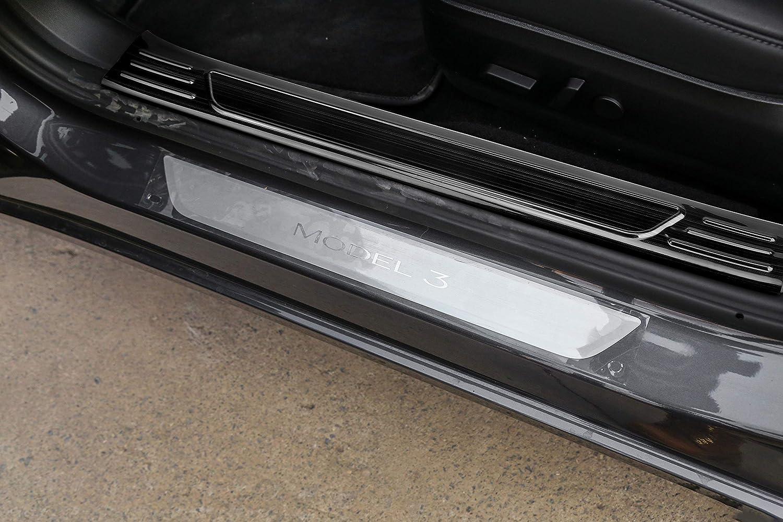 Amazon.com: BASENOR Tesla Modelo 3 Protector de parachoques ...