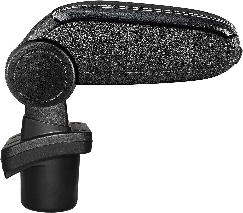 Accessoire Console de Rangement et Repose-bras avec Compartiment Organiseur Tissu Noir LP Trade Accoudoir Central pour DS3 DS 3 Pi/èce D/étach/ée dInt/érieur de Voiture