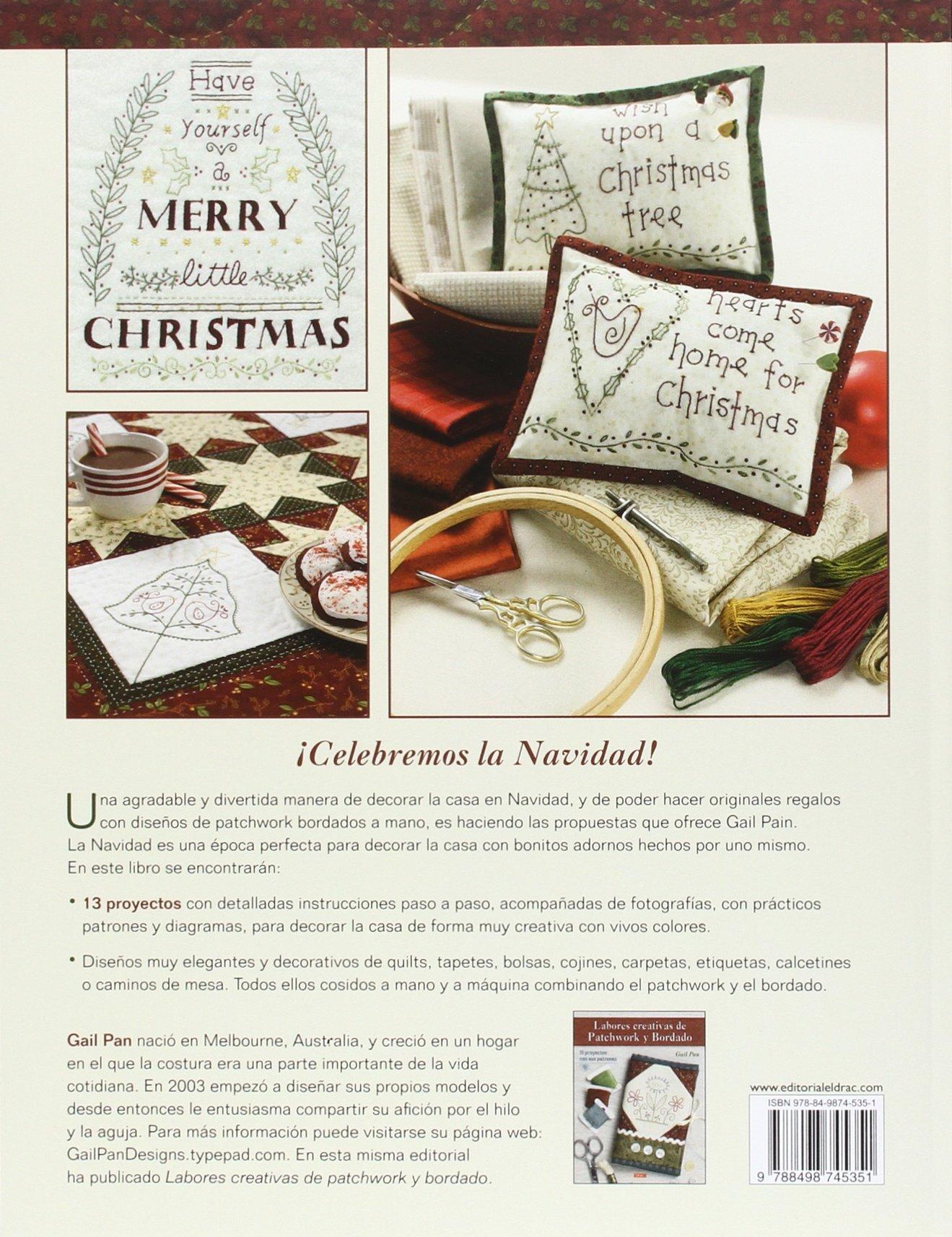 Patchwork Y Bodado Para Navidad: Amazon.es: Gail Pan: Libros