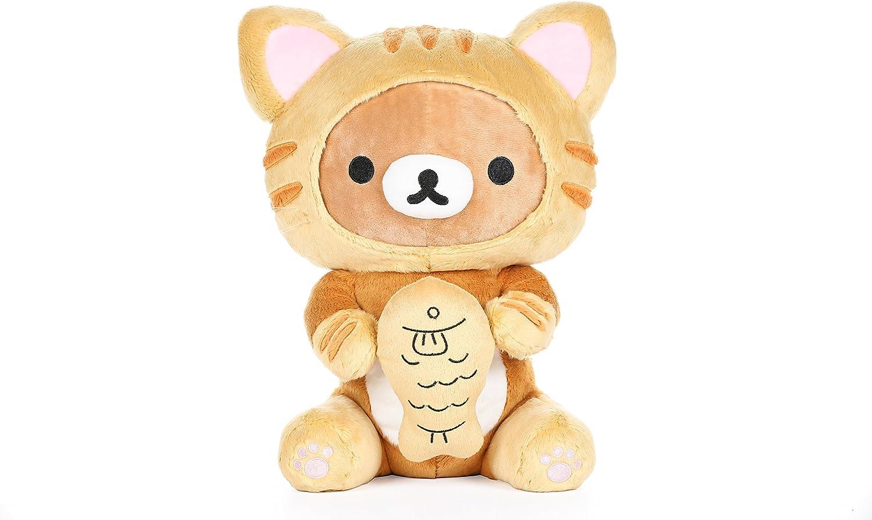 Rilakkuma by San-X Korilakkuma 13.5 Sleeping Bag Plush Doll Stuffed Animal Authentic Licensed Product