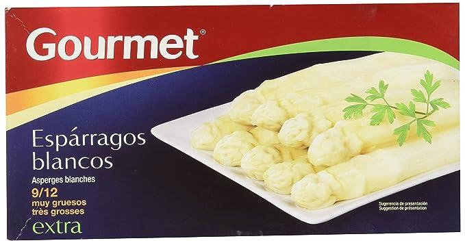 Gourmet - Espárragos blancos extra - 9/12 muy gruesos - 250 g - ,