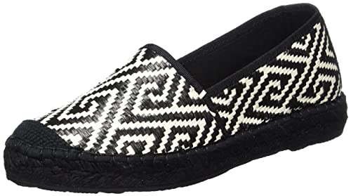 Womens Sfmarley Geometric Espadrilles, White Selected