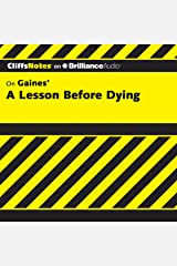 A Lesson Before Dying: CliffsNotes Audible Audiobook