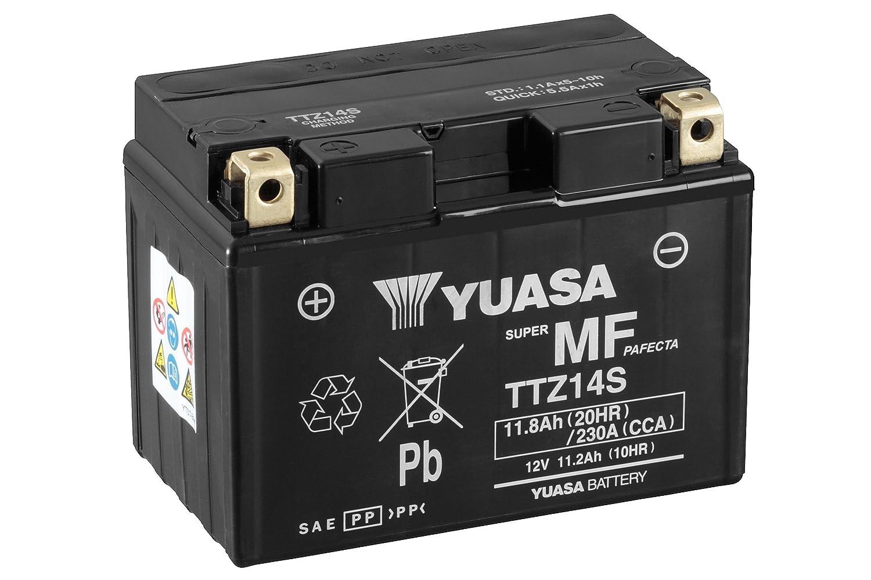 YUASA TTZ14S-BS Batterie de Moto