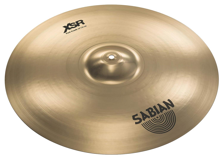 SABIAN (セイビアン) クラッシュシンバル XSR ファストクラッシュ FAST CRASH XSR-20FC-B 20インチ クラッシュ ブリリアントフィニッシュ   B019R2MEY6