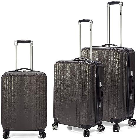 Juego de maletas expandibles Benzi BZ 4873 NEGRO
