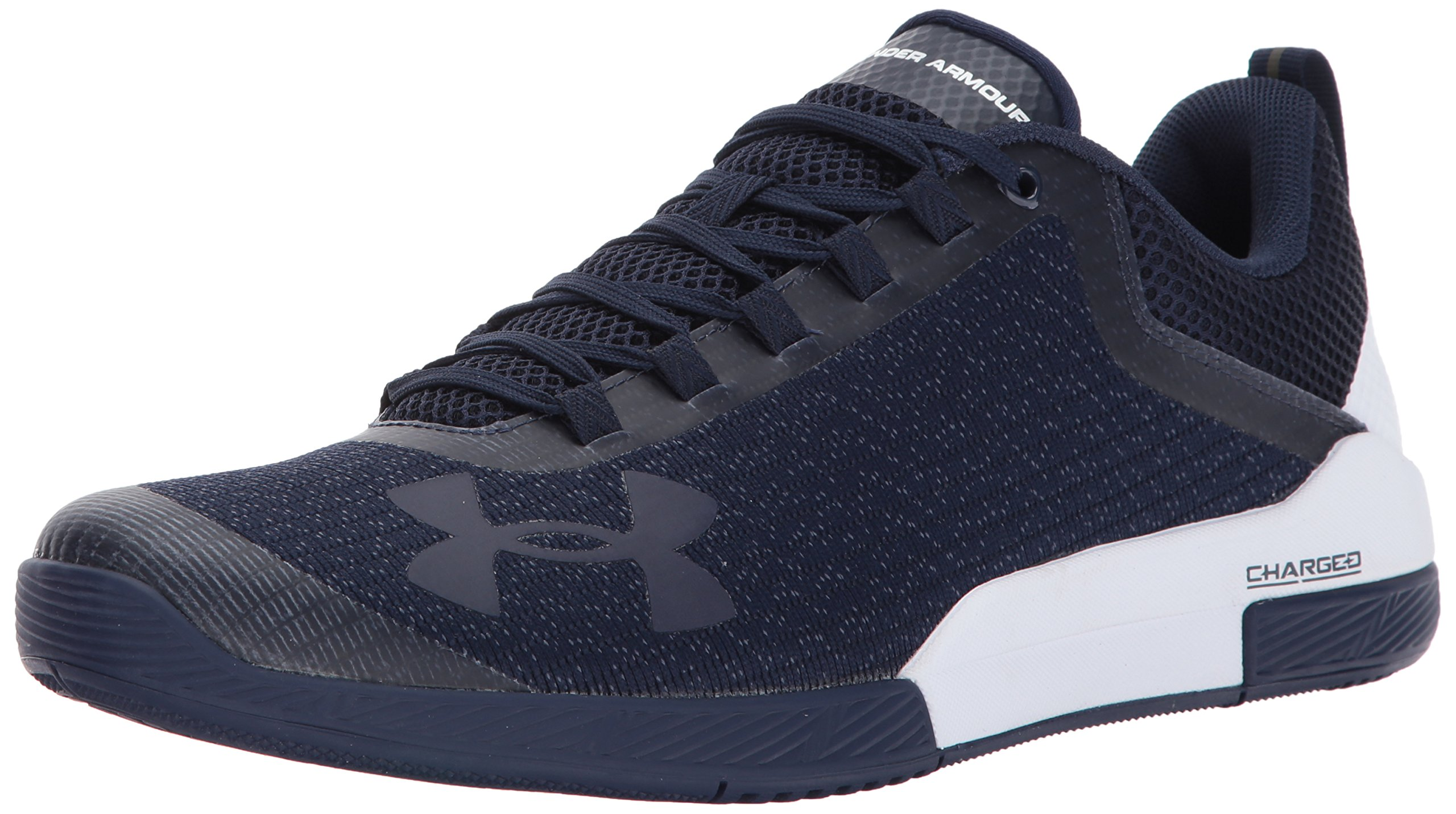 Under Armour Men's Charged Legend Sneaker, Midnight Navy (410)/White, 11