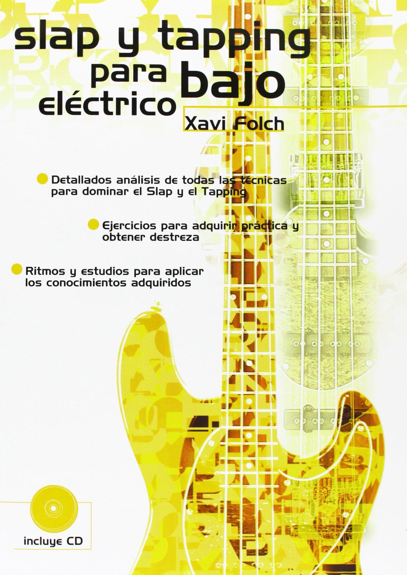 Slap y Tapping para Bajo Eléctrico: Amazon.es: Folch, Xavi, Bass ...