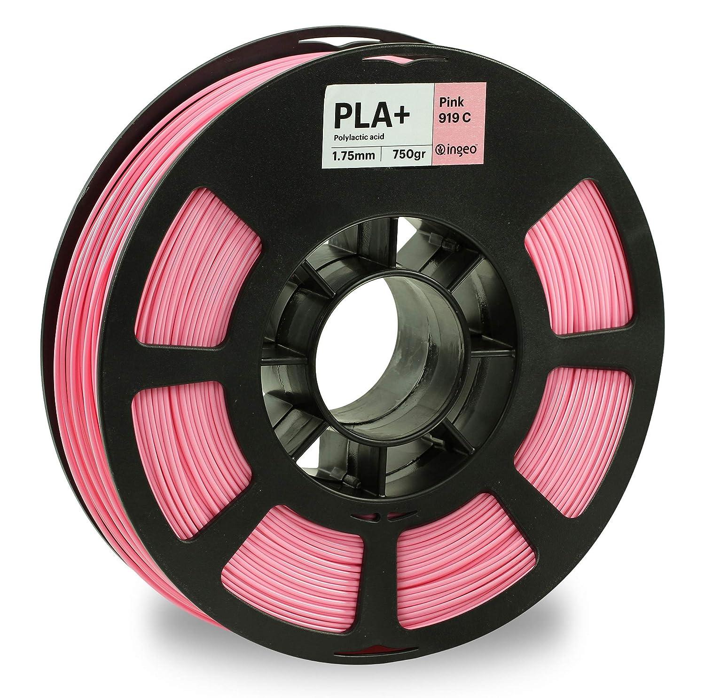 KODAK PLA Plus 3D Printer Filament, 1.75mm +/- 0.02 mm, 750g (1.7lbs) Spool, Pink