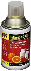 Rubbermaid Commercial SeBreeze Odor-Absorbing Gel Refill, Citrus Breeze, FG5139