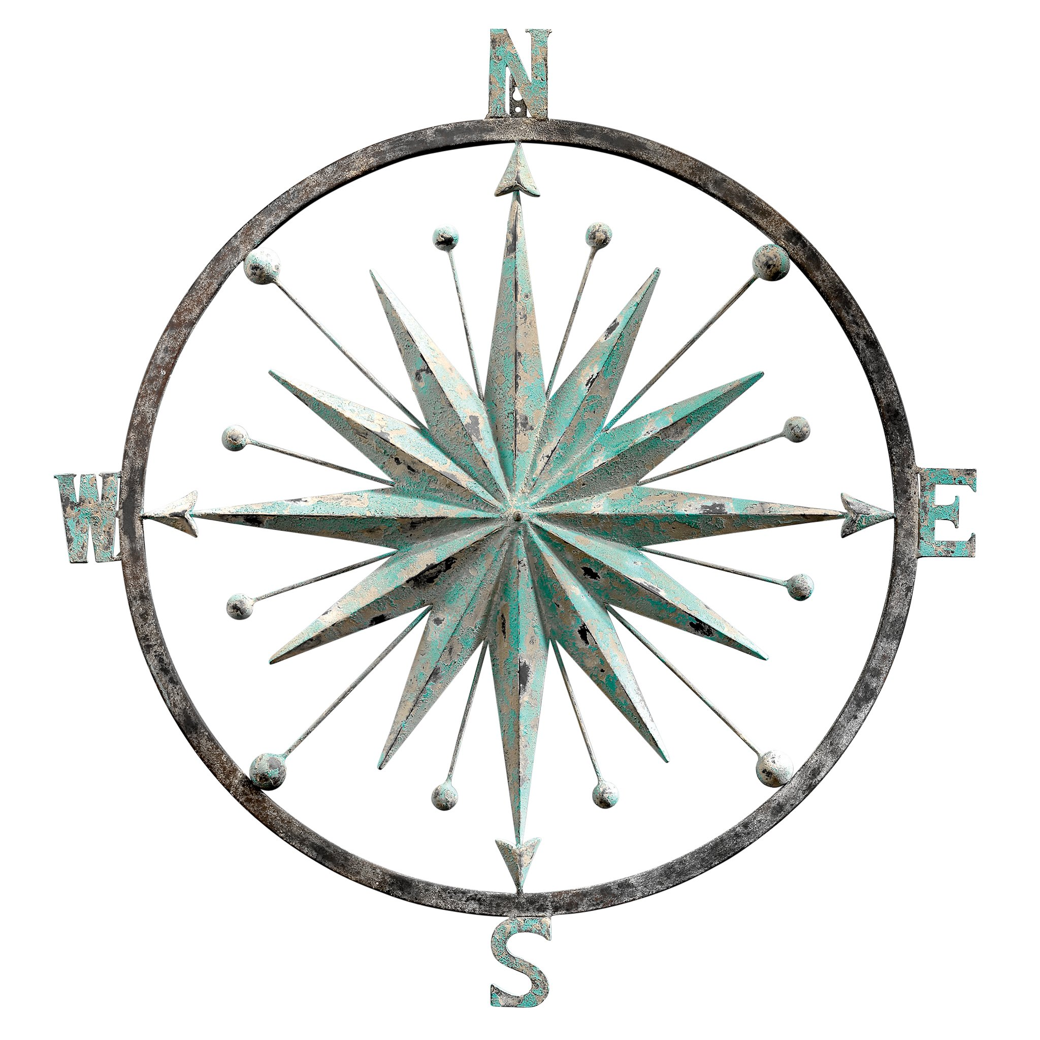 Design Toscano Rose of The Winds Compass Wall Sculpture