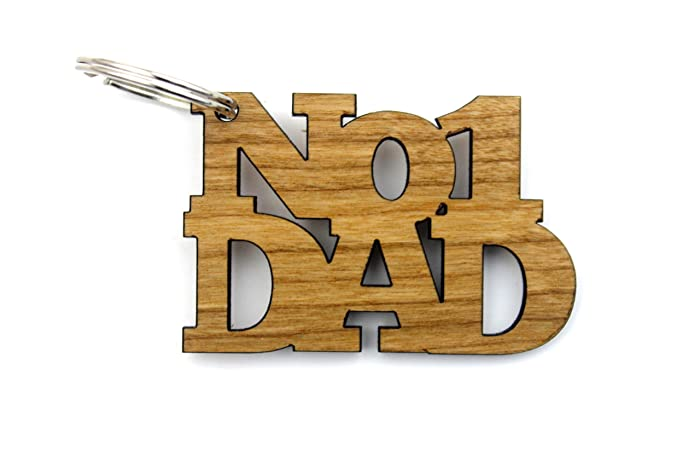 No 1 Dad Gifts Keyring - Father\'s Day Birthday Christmas Ideas ...