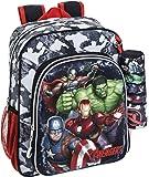 "Safta Mochila Escolar Junior Avengers""Gallery Edition"" Oficial 320x120x380mm"
