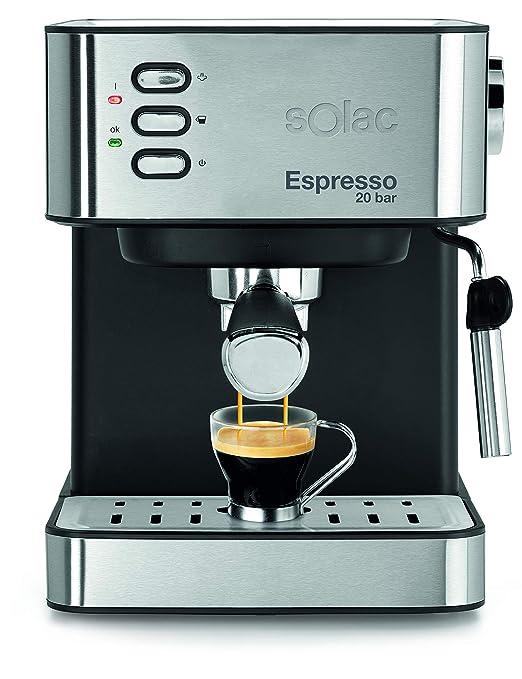 SOLAC CE4481-ESPRESSO - Máquina de café en cápsulas de café molido ...