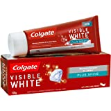 Colgate Toothpaste Visible White Plus Shine - 100 g (Whitening)