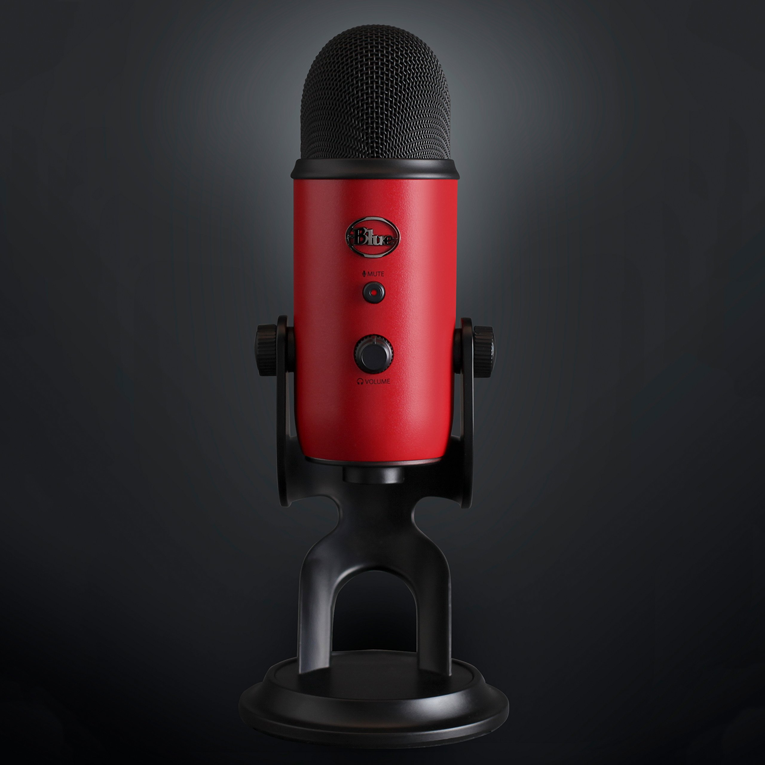 Blue Yeti USB Microphone - Satin Red by Blue (Image #7)