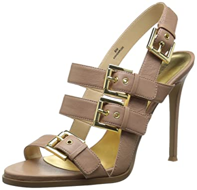 3352e86921b Nine West Women s Howrude Leather Heeled Sandal