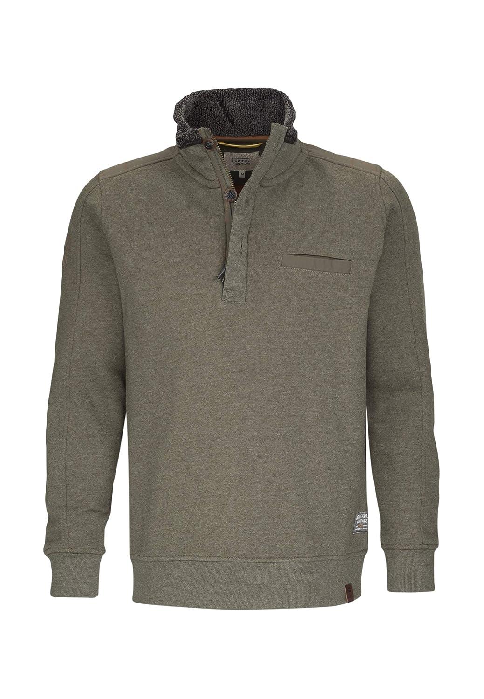 Camel active Herren Sweat-Shirts Regular fit Langarm