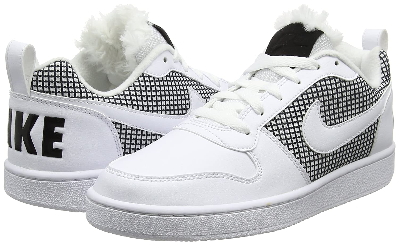 Wmns Court Borough White Black, Zapatillas de Deporte Unisex Adulto, Blanco (Blanco 916794 100), 41 EU Nike