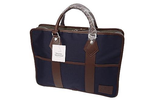 Vivienne Westwood MAN ビジネスバッグ ネイビー B24430