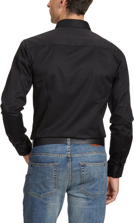 Jack & Jones 12020857, Camisa Para Hombre, Negro, 40 (Medium ...