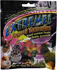 F.M.Brown'S 44495 Extreme Yogurt Yummies Small Animal Treat, 2.75-Ounce