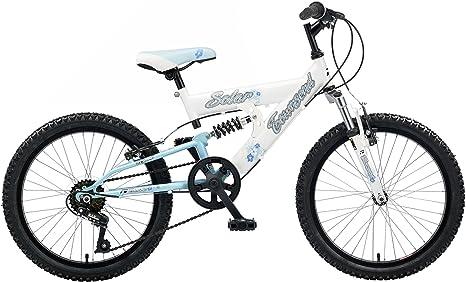 Townsend Solar Girls - Bicicleta de Doble suspensión para niña ...