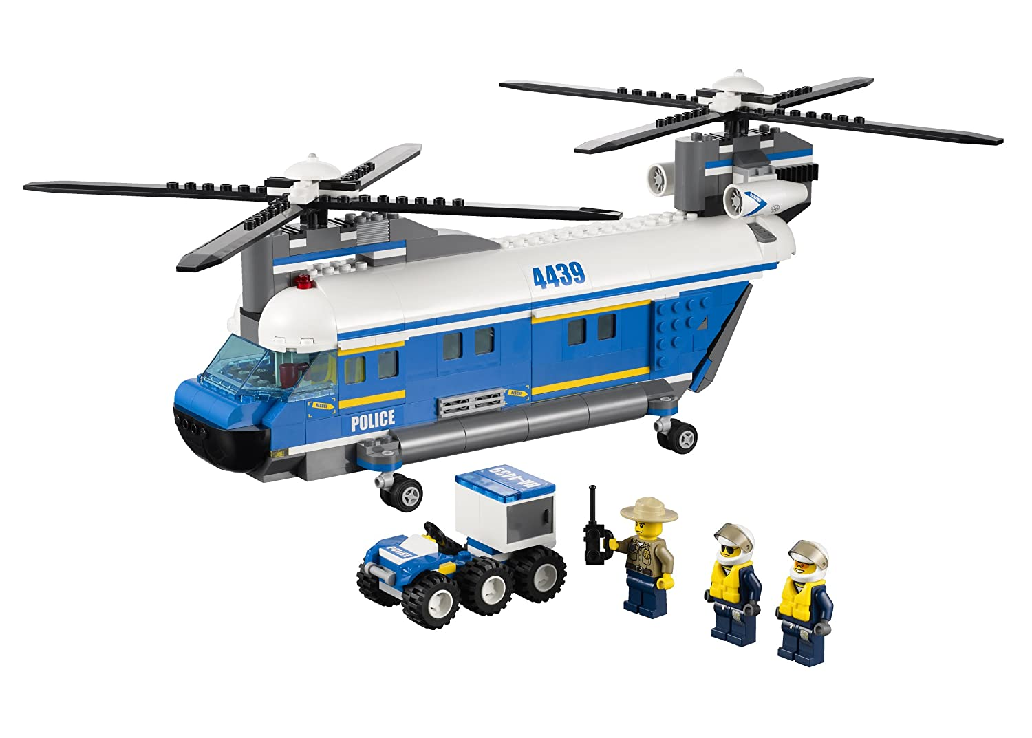 LEGO City Police Heavy-Lift Helicopter 4439 4654260