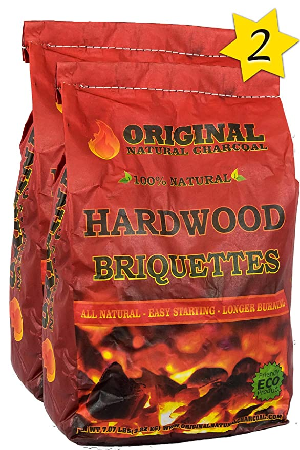 Original Natural Charcoal Hardwood Briquettes – The Chef-Grade Charcoal Briquettes