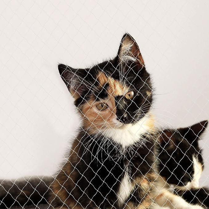 Dibea Red para Gatos Red de Seguridad balcón Red de protección Gatos 3 x 8 m (M): Amazon.es: Productos para mascotas