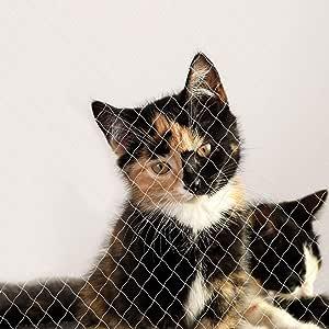Dibea Red para Gatos Red de Seguridad balcón Red de protección Gatos 4 x 10 m (L): Amazon.es: Productos para mascotas