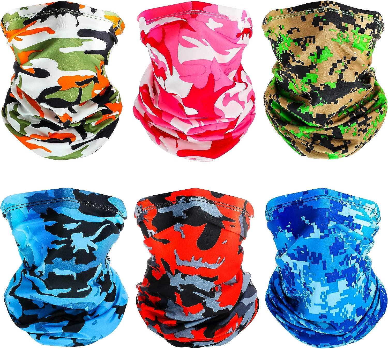 Summer UV Protection Face Scarf Mask Neck Gaiter Seamless Breathable Headwear Headband Bandana