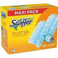 Swiffer Duster Vervangende plumeau van stof, 18 stuks, vangt tot 3 volt meer stof en haren op dan een conventionele…