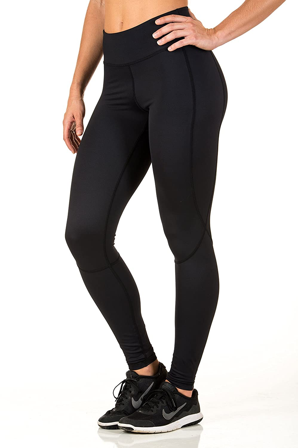 7e3f5e7c52449 Foxy Athletics Carla Tight ~ Jet Black at Amazon Women's Clothing store: