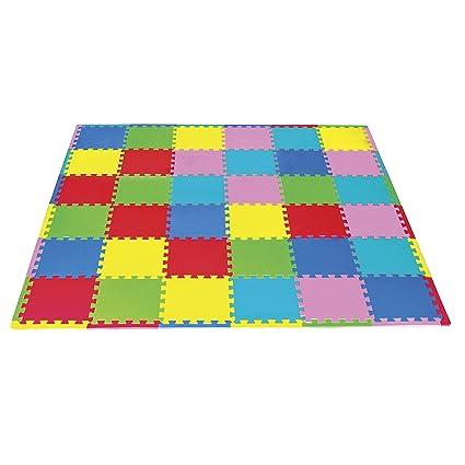 7d410faba81 Tapete de juego rompecabezas para bebé y niños de foamy foami fomi.  Alfombrilla didáctica de