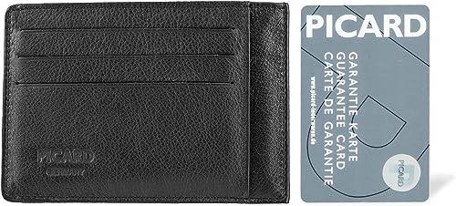 Picard Eurojet Card cassette de Crédit//Visite étui Portefeuille Black Noir