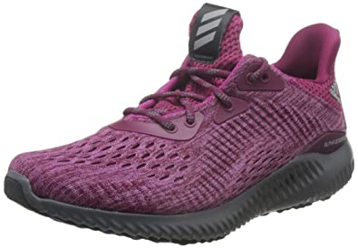 new products 1e9ea 0a69b adidas Alphabounce Em, Chaussures de Running Compétition Femme, Multicolore  (Mystery RubyBahia