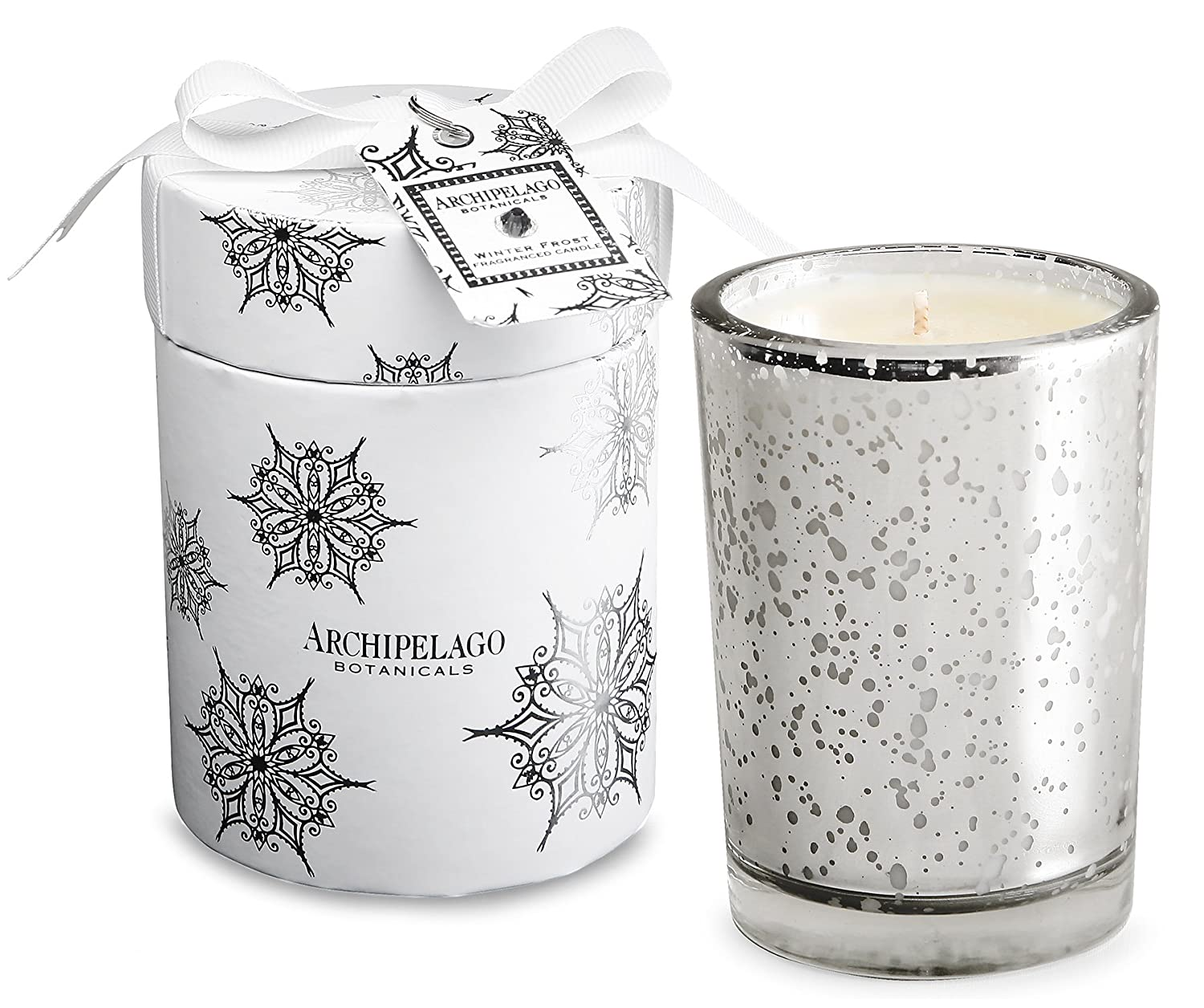 Archipelago Botanicals Winter Frost Round Box Candle