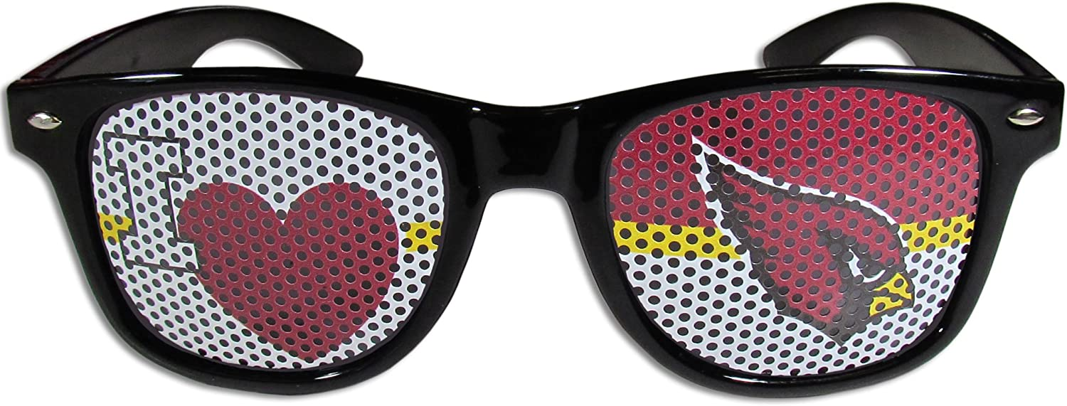 White,Adult,White NFL Pittsburgh Steelers I Heart Game Day Shades