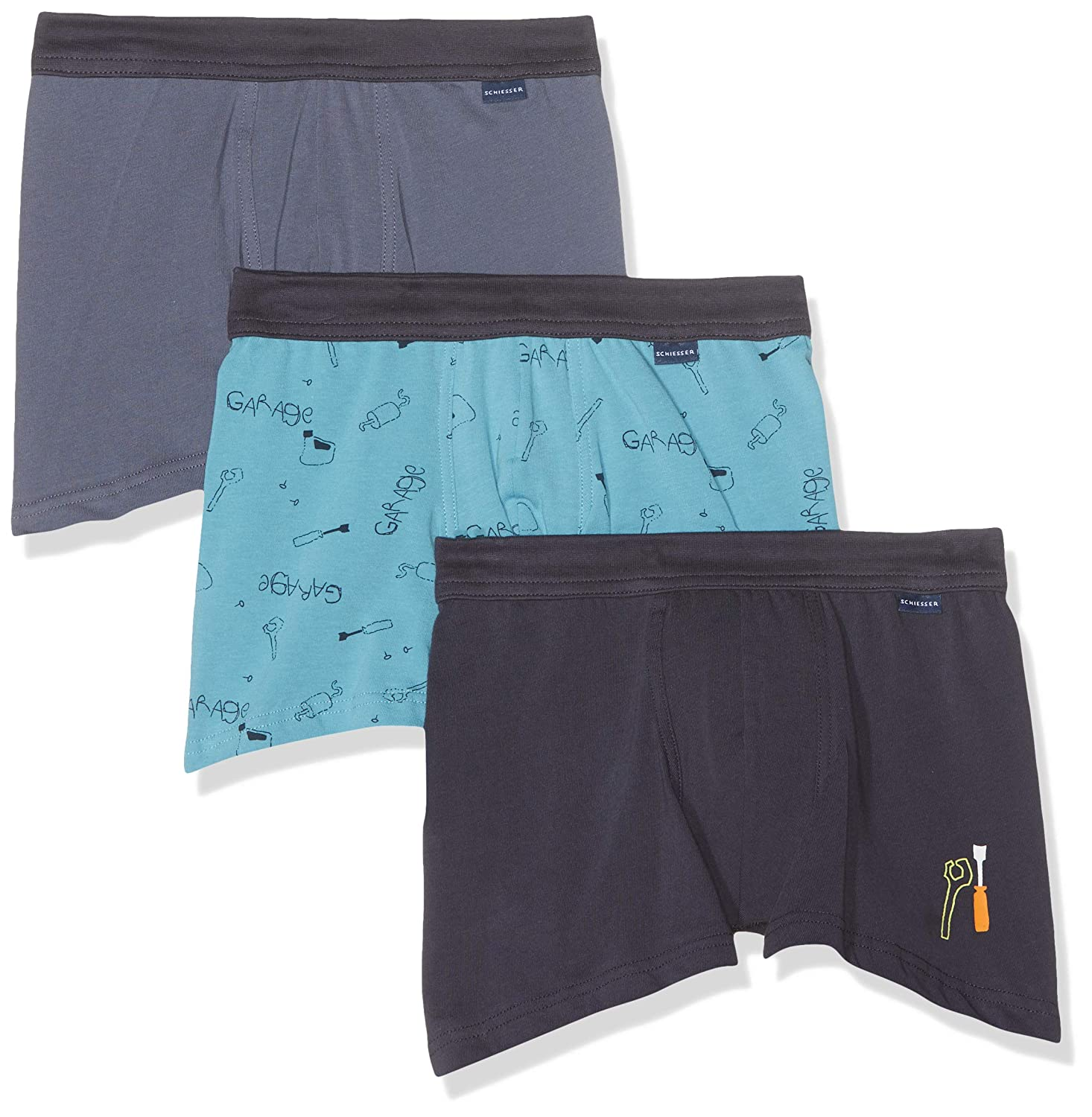 Pack of 3 Schiesser Boys Boxer Shorts