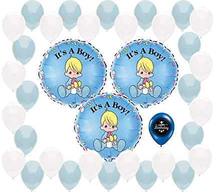 Amazon Com Combined Brands Precious Moments Baby Shower It S A Boy