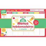 Bloc de menus à compléter Mémoniak 2019