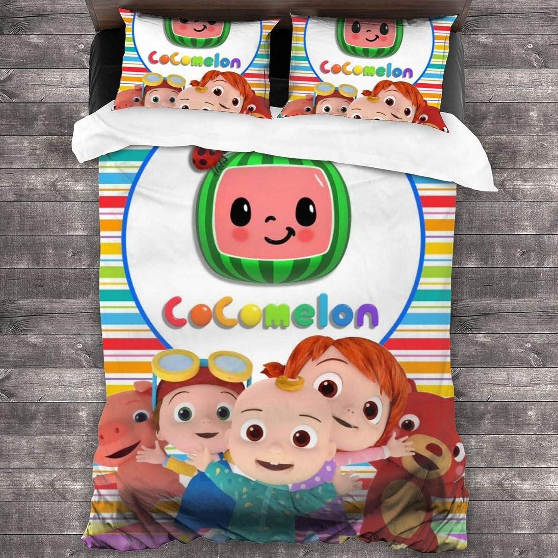Vigorpow Co Come Lon Kids Bedding Super Soft Comforter Cover And Pillowcase Set 3 Piece Twin Size 86 X70 Home Kitchen