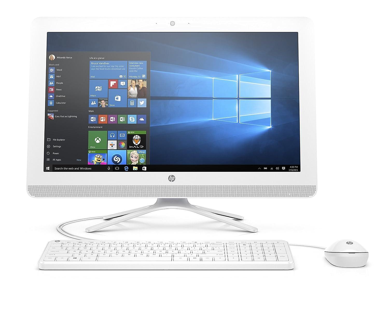 2018 Flagship HP Pavilion 21.5in Full HD IPS All-in-One Desktop Computer, AMD A6-7310, 2GHz, 4GB RAM, 1TB 7200RPM HDD, HDMI, Bluetooth 4.0, USB 3.0, Windows 10 (Renewed)
