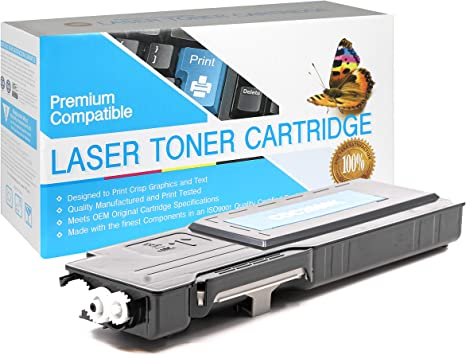 Print.After.Print Compatible Toner Replacement for Dell 593-BBBU Works with: C2660DN C2665DNF Black